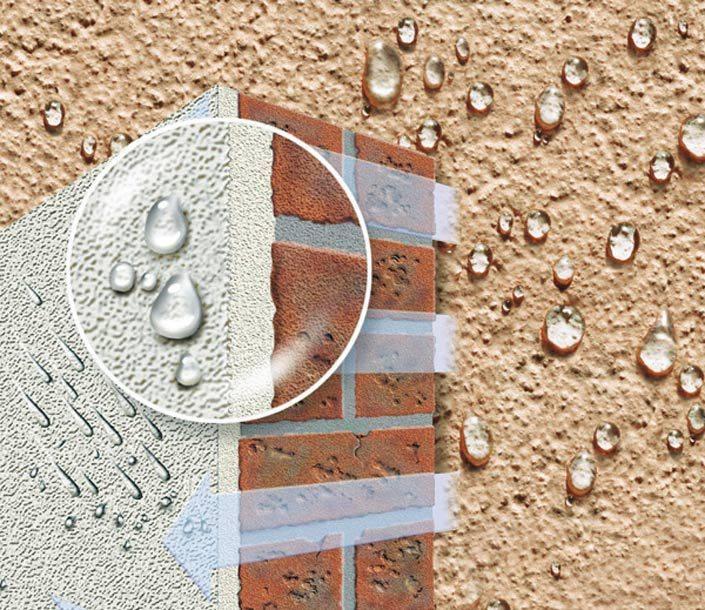 Технические характеристики фасадной водоэмульсионной краски