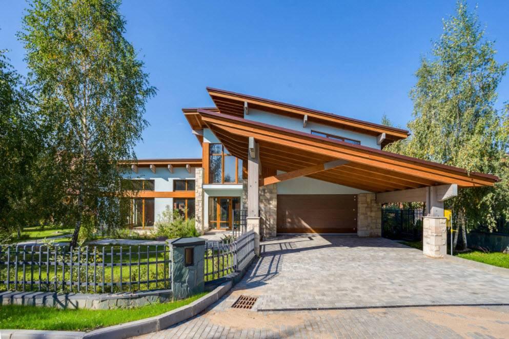 Проекты дома мечты под односкатной крышей