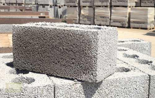 Сколько весит керамзитобетонный блок?