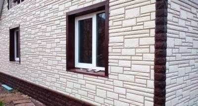Сайдинг под кирпич: как обшить утеплителем и отделать фасадными панелями дом + фото
