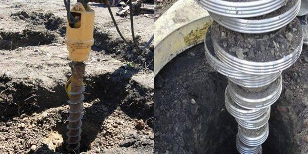 Бурение под сваи: лидерное и пробное создание скважин по снип, бурильная установка и разбуриватель для фундамента