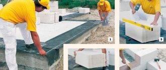 Как построить дом из шлакоблока?
