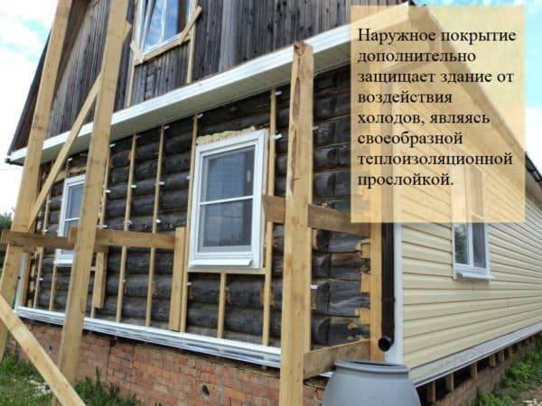 Чем обшить дом из бруса снаружи и внутри: фото, выбор материала