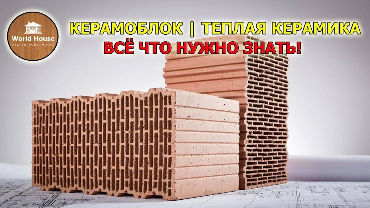Керамические поризованные блоки (теплая керамика): недостатки и минусы