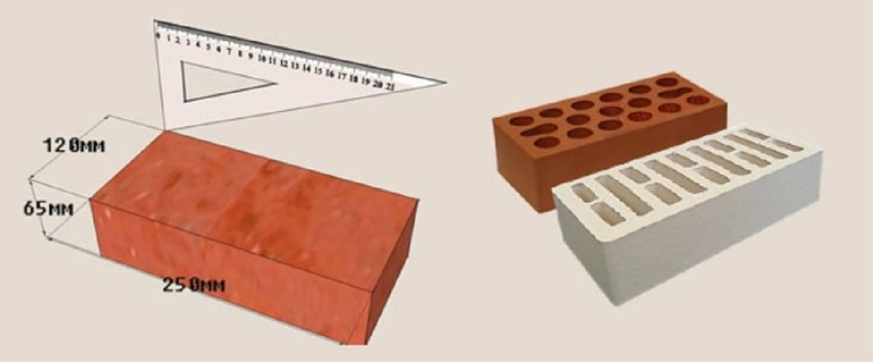 Вес красного кирпича: плотность и масса одного поддона полнотелого 250х120х65, сколько весит облицовочный и 1 штука стандартного пустотелого