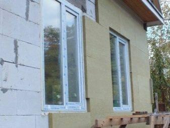 Отделка фасада дома из газобетонных блоков штукатуркой
