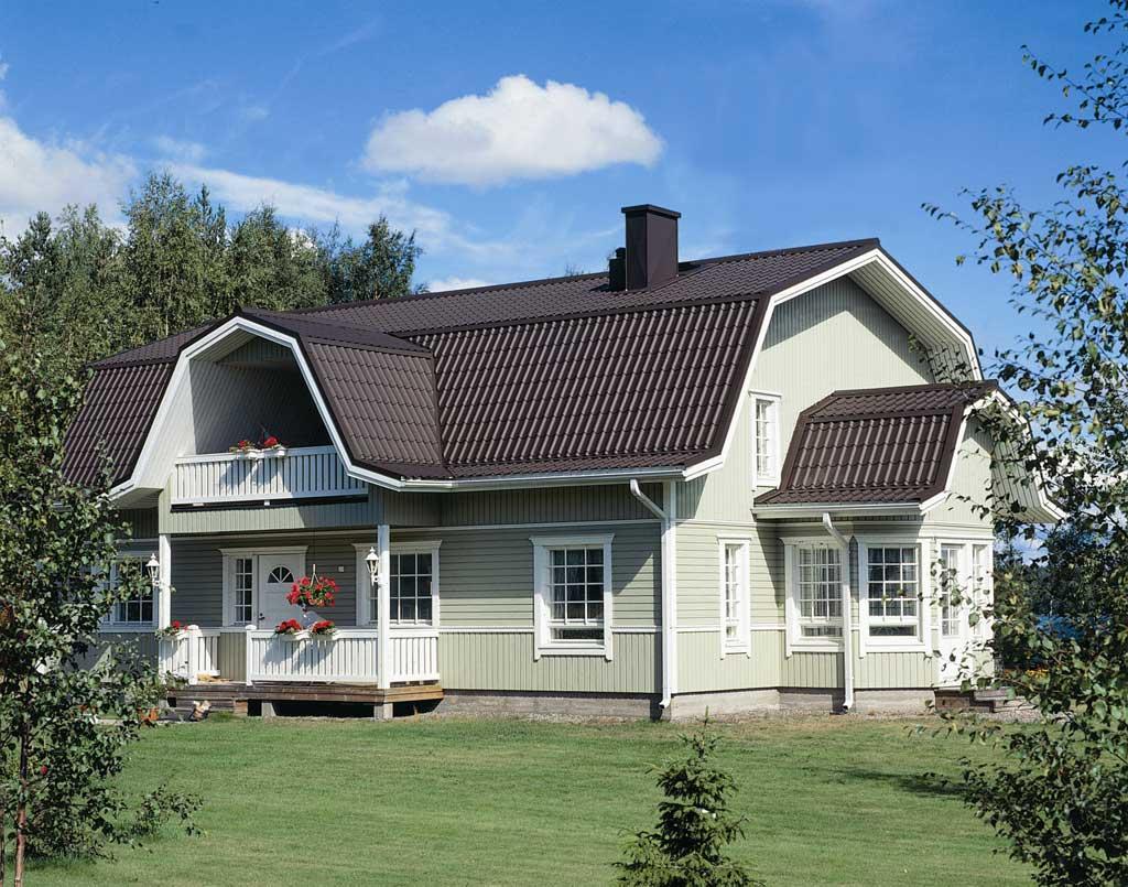 Крыши домов с мансардой: проекты, 5 вариантов, ломаные и другие виды конструкций, видео и фото