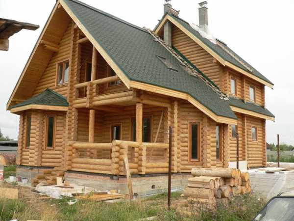 Строительство домов из оцилиндрованного бревна под ключ в москве: технология и этапы