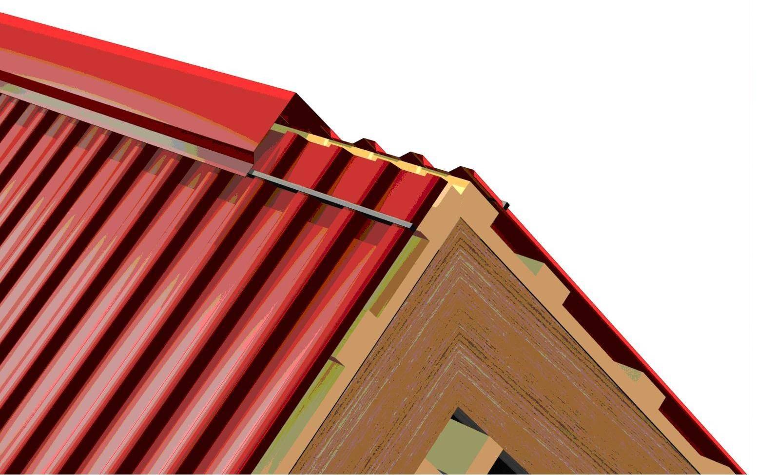 Какая должна быть высота крыши четырехскатной