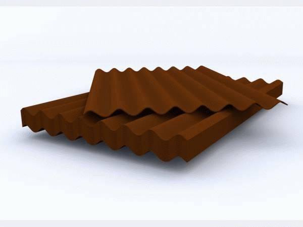 Металлошифер — размеры листа