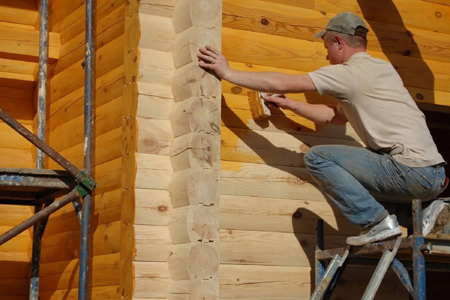 Чем обработать нижние венцы сруба дома, бани из бруса - цены и обзор лучших средств