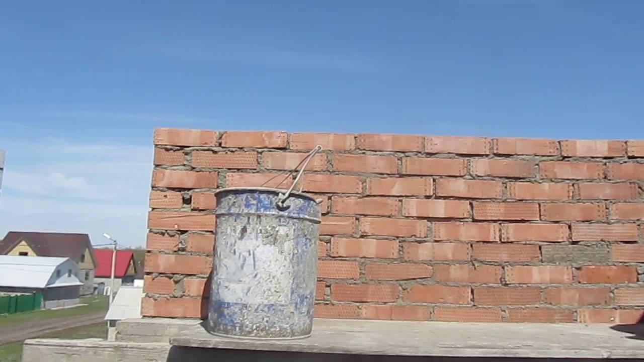 Кирпичная стена толщина по госту. кирпичная кладка