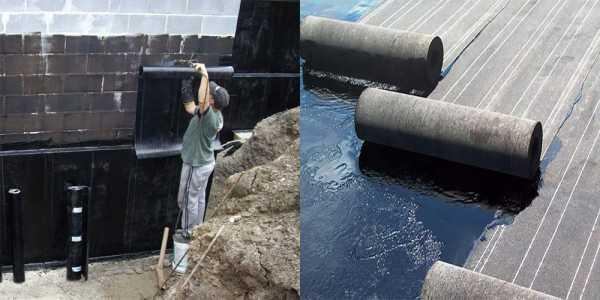 Битумная мастика для гидроизоляции фундамента: как наносить