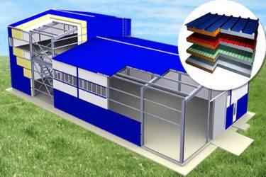 Производственные цеха из сэндвич-панелей: проектирование и строительство