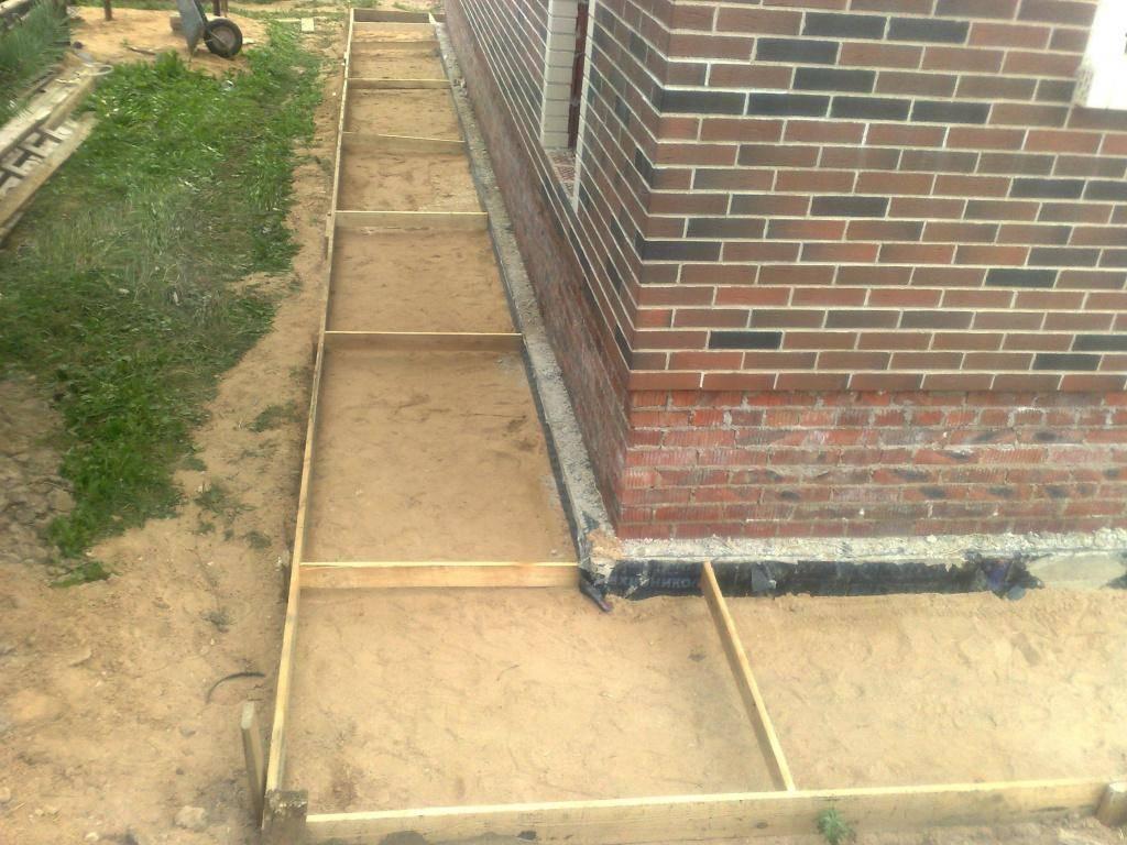Укладка бетона на старый бетон