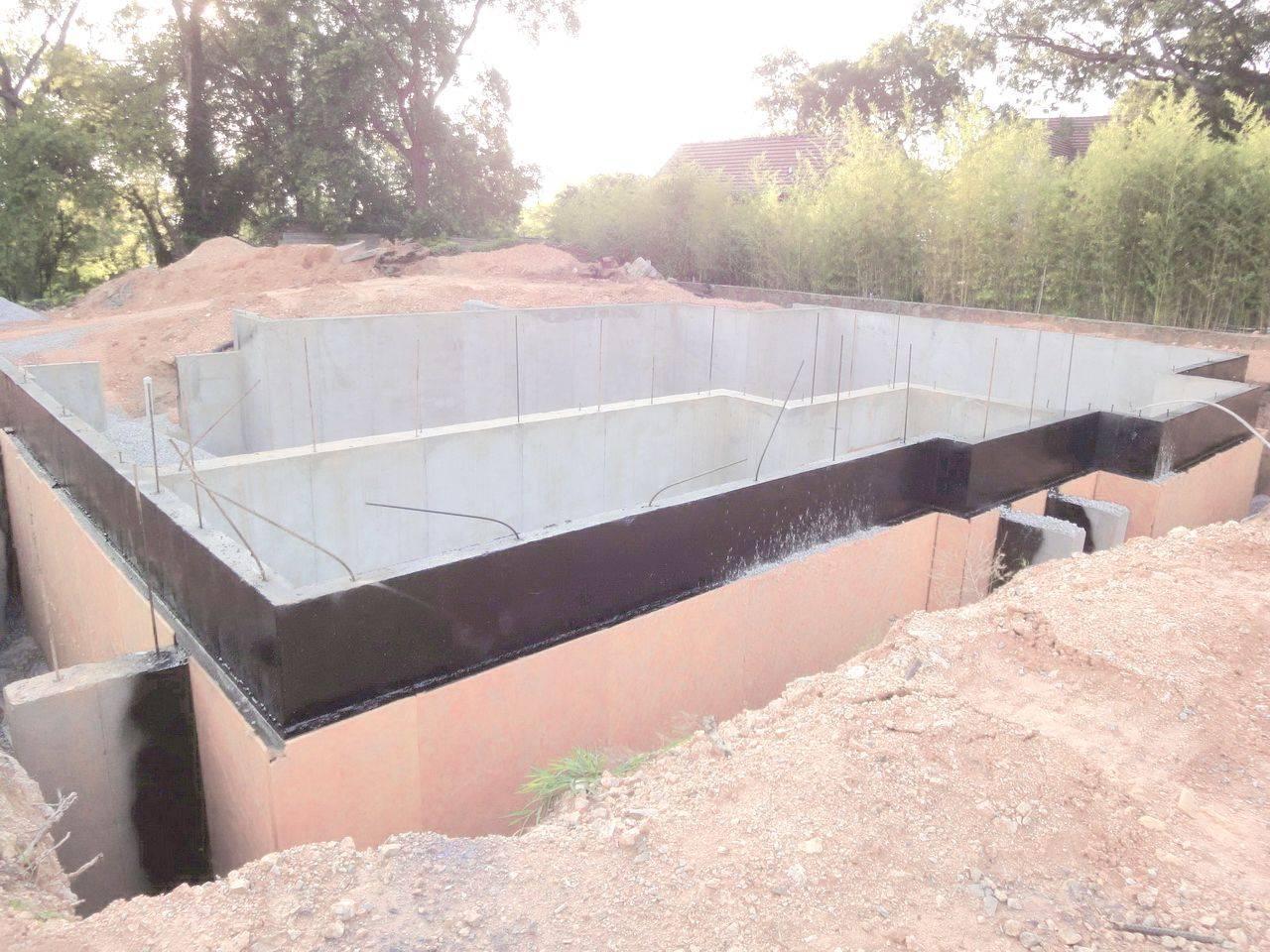 Гидроизоляция фундамента, подвала, стен - гидрострой
