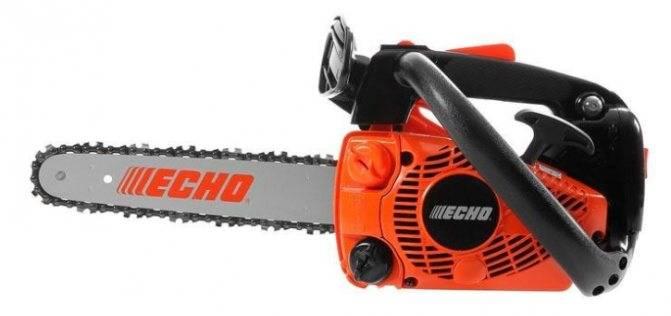 Бензопилы echo (эхо), модели — регулировка, характеристики