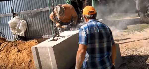 Как расколоть бетонный блок своими руками