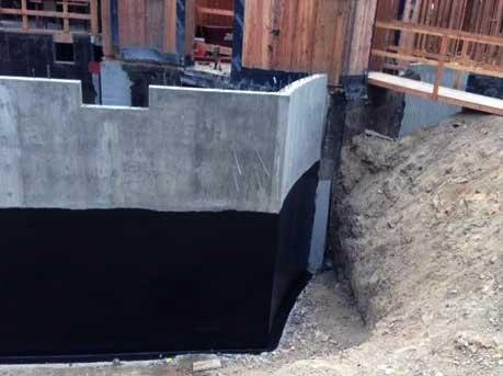 Технология обмазочной гидроизоляции фундамента – устройство гидроизоляции