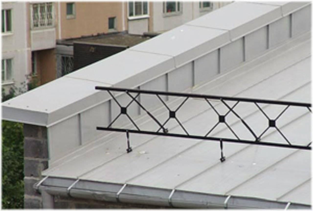 Высота парапета - конструкция и устройство