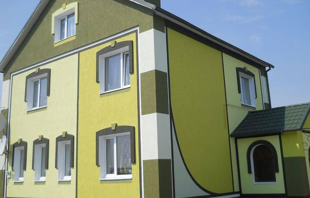 Особенности фасадной краски и разные ее виды