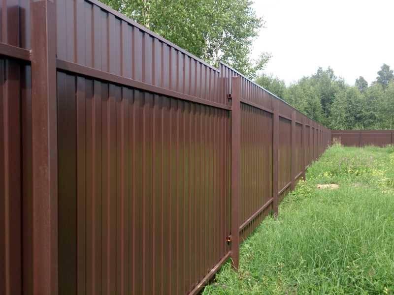 Фундамент для забора ленточный - всё о воротах и заборе