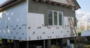 Утепление пенофолом стен изнутри дома: технология работ