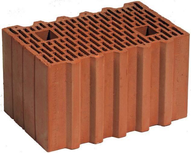Керамические блоки porotherm 38 thermo