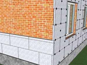 Как своими руками сделать утепление стен пенополистиролом снаружи (с видео)