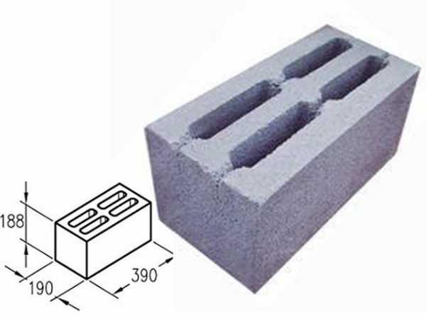 Стандартные размеры шлакоблоков, какой вес блока должен быть по госту, кладка своими руками: инструкция, фото и видео-уроки