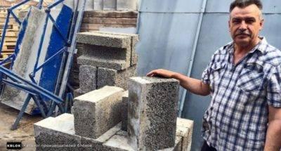 Арболитовые блоки своими руками: технология изготовления от а до я