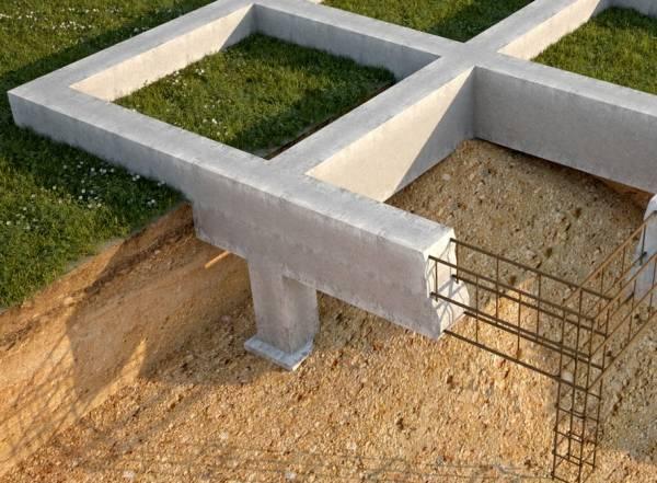 Какой фундамент для дома из газобетона лучше: фундамент под дом из газобетона - ленточный, на глинистой почве, на песчаной почве
