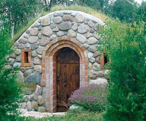 Что нужно для постройки стен в погребе