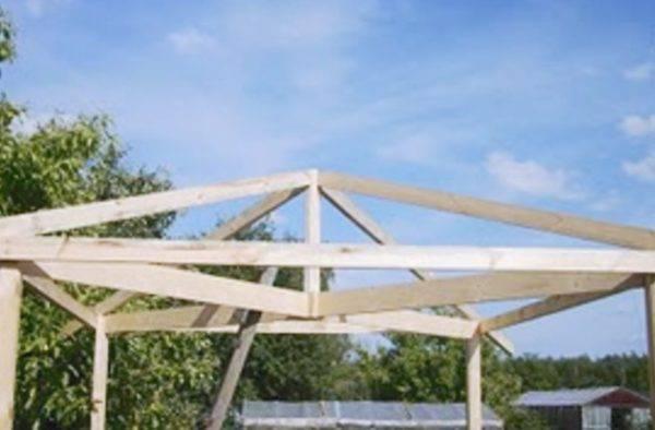 Как построить четырехскатную крышу своими руками + монтаж кровельного пирога под вальмовую кровлю