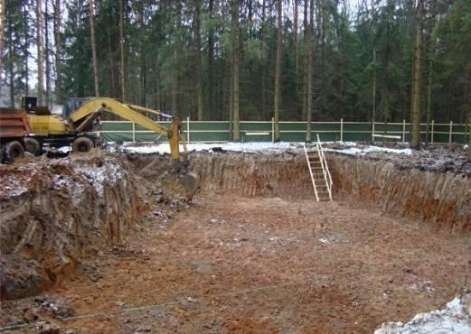 Как надежнее копать фундамент: вручную или при помощи спецтехники - самстрой - строительство, дизайн, архитектура.