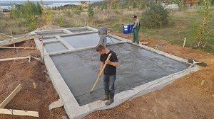 Расчет бетона на фундамент: как рассчитать кубатуру, какое количество кубов нужно, как посчитать объем, сколько надо материала