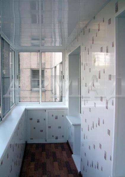 Как обшить балкон своими руками: 6 вариантов обшивки с фото и видео