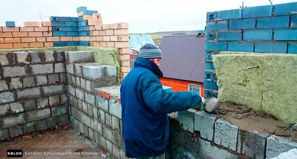 Толщина несущей стены из керамзитобетонных блоков - клуб мастеров