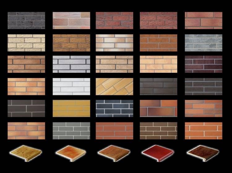 Как правильно провести отделку фасада клинкерной плиткой