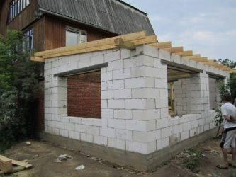 Как построить качественно каркасную пристройку к дому: пошаговое фото