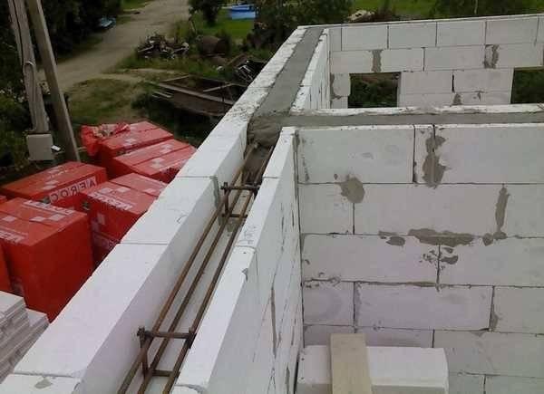 Применение газобетонных блоков на даче