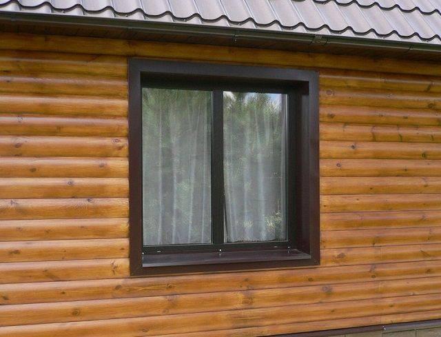 Монтаж сайдинга вокруг окна: техника выполнения работ