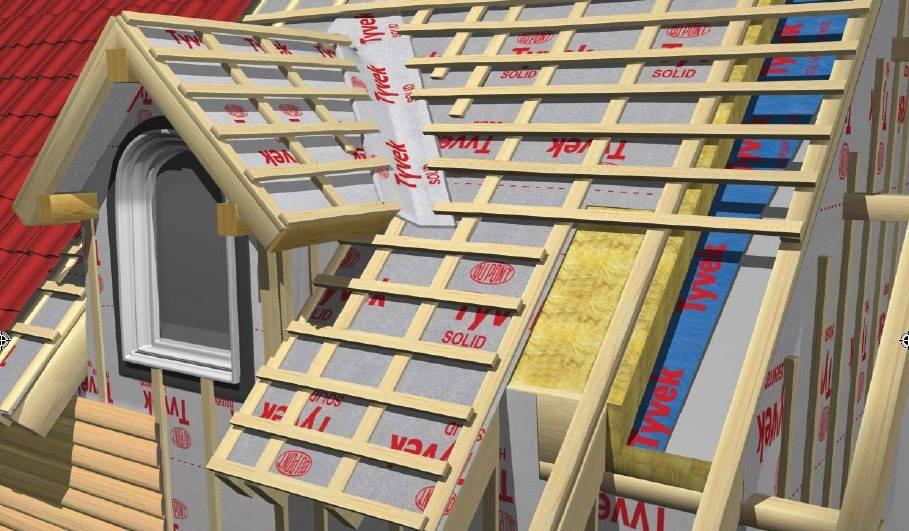 Как сделать гидроизоляцию крыши дома под металлочерепицу или профнастил и не ошибиться в выборе гидроизоляционного материала