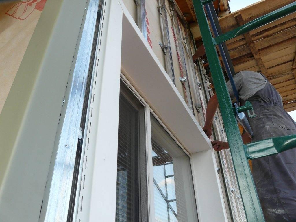 Как правильно выполняется отделка окна сайдингом. технология оформления окон без откосов, арочных проемов, утопленных в стене окошек