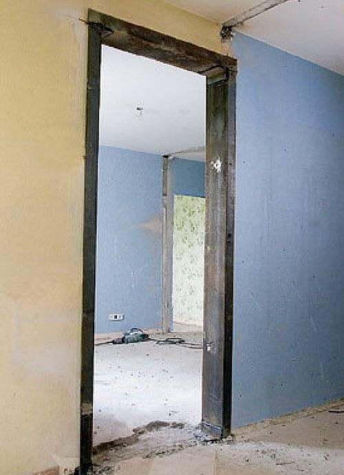 Как сделать проемы в бетонных стенах?