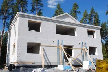 Дома из газобетона – строительство по особой технологии