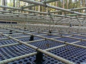 Армирование монолитной плиты перекрытия: материалы, схемы, расчет, пошаговая инструкция выполнения работ