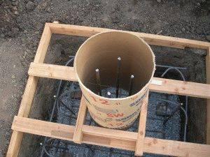 Столбчатый фундамент своими руками: пошаговая инструкция - строительство и ремонт