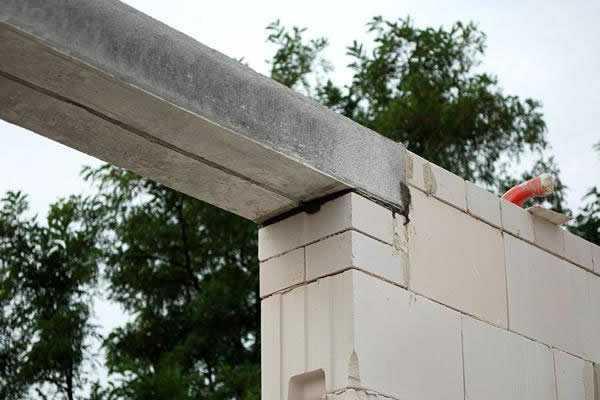 Опирание перемычек на кирпичную стену снип: норматив минимального опирания перемычки на стену над проемом