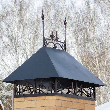 Колпак на дымоход своими руками – конструкция и чертежи